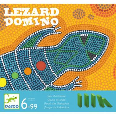 Lezard Domino, jeu DJECO 8437