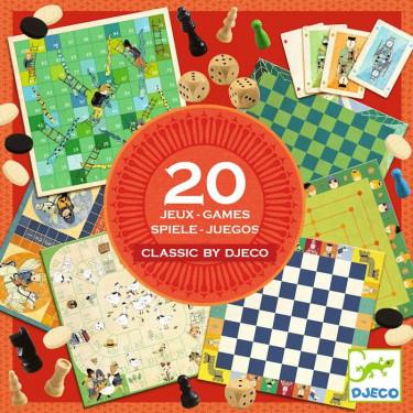 Classic Box, boîte de jeux DJECO 5219