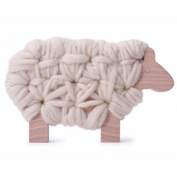 Mouton Woody 'écru' Les Jouets Libres