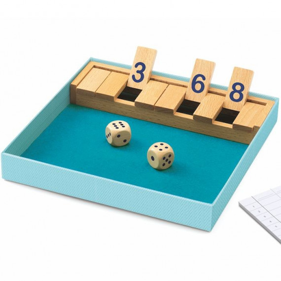 Shut the box, jeu de dés DJECO 5217