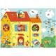Optic puzzle La Maison 12 pcs DJECO 7010