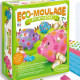 """Eco-Moulage Popsine """"Les cochons dodus"""" Sentosphère 2663"""