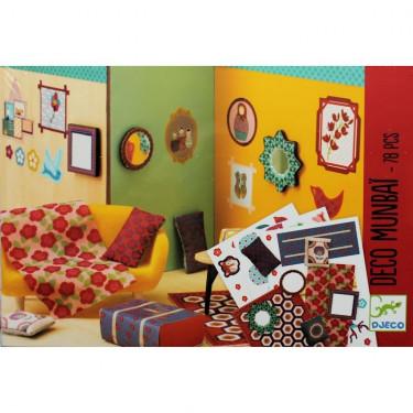 """Kit de décoration """"Munbaï"""" Djeco 7804"""