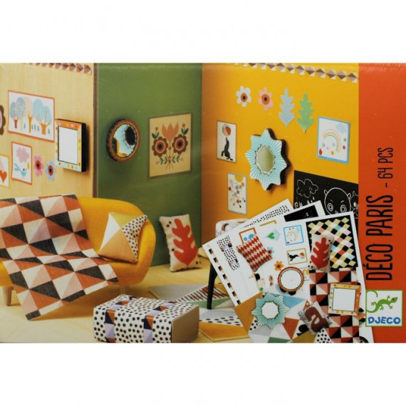 """Kit de décoration """"Paris"""" Djeco 7805"""
