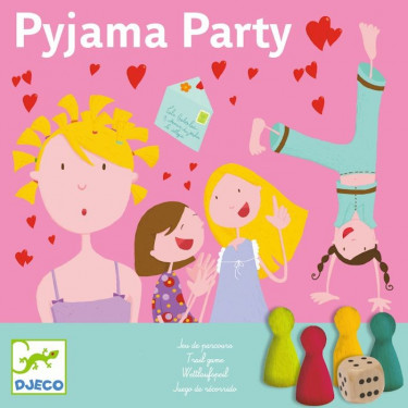Pyjama Party, jeu DJECO 8448