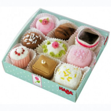 Petits Fours, boîte de 9, jouet HABA 3808