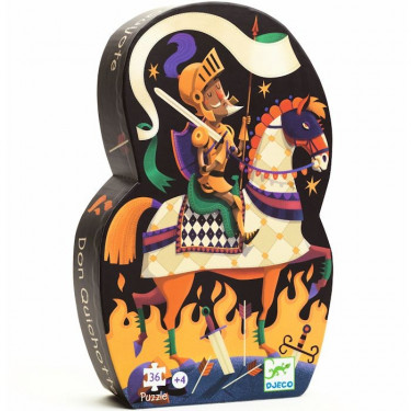 Puzzle Djeco Don Quichotte 36 pcs 7235