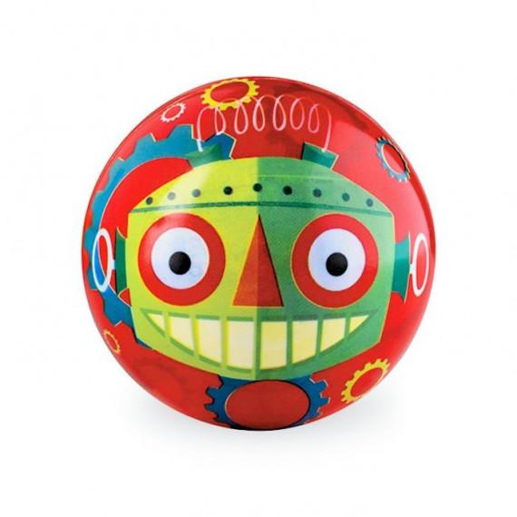 Balle 10cm Robot CROCODILE CREEK