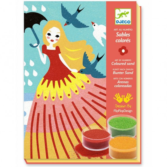 Coffret Sables colorés 'Belles en balade' DJECO 8659