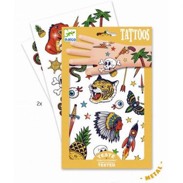 Tatouages Bang Bang DJECO 9577