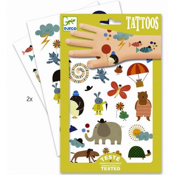 Tatouages Jolies petites choses DJECO 9579