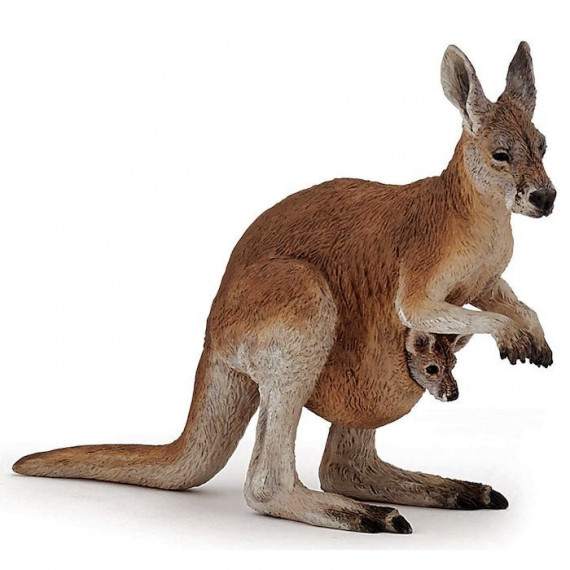 Kangourou et son bébé PAPO 50188