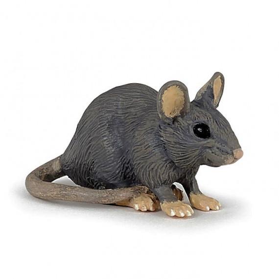 Souris grise figurine PAPO 50205