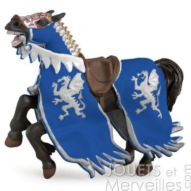 Cheval du Roi au dragon bleu PAPO 39389