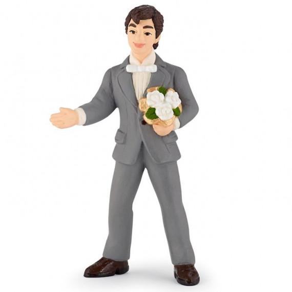 Figurine de marié PAPO 39012