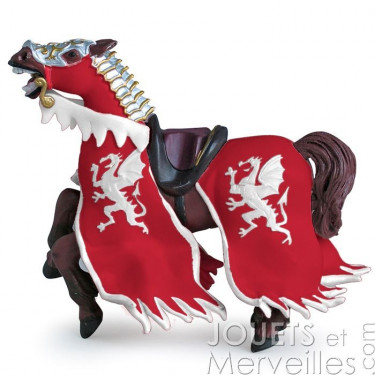 Cheval du Roi au dragon rouge PAPO 39388
