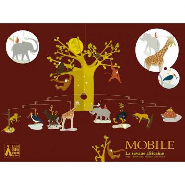 Mobile La savane africaine, mobile DJECO 4300