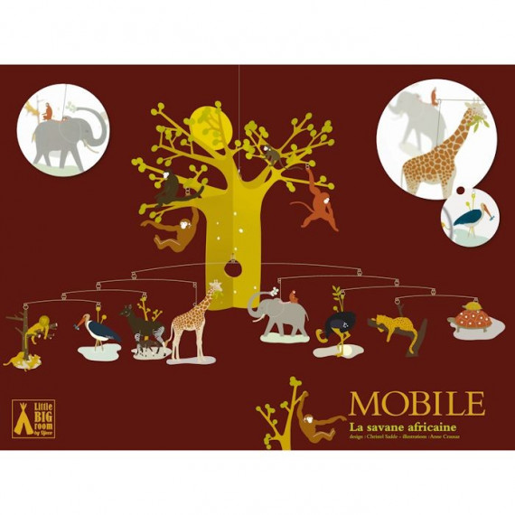 Mobile La savane africaine, mobile DJECO 4300