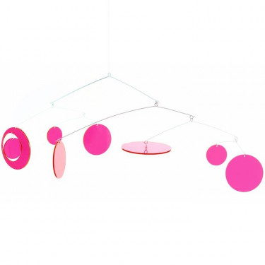 Mobile Pink Fly DJECO 4360