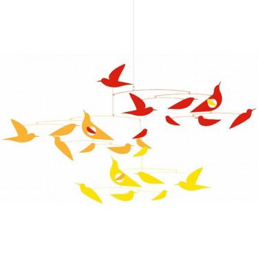 Mobile Des oiseaux en harmonie DJECO 4370 Collection Katsumi Komagata