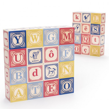 Cubes alphabet Uncle Goose