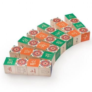 Cubes alphabet coréen Uncle Goose