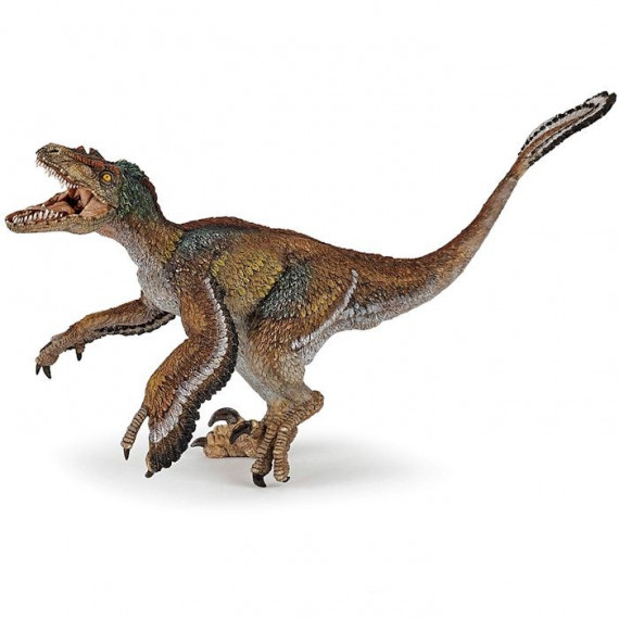 Vélociraptor à plumes, dinosaure PAPO 55055
