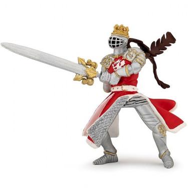 Roi au dragon à l'épée, figurine PAPO 39797