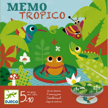 Memo Tropico, jeu DJECO 8444
