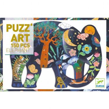 Puzzle Eléphant 150 pcs DJECO 7652