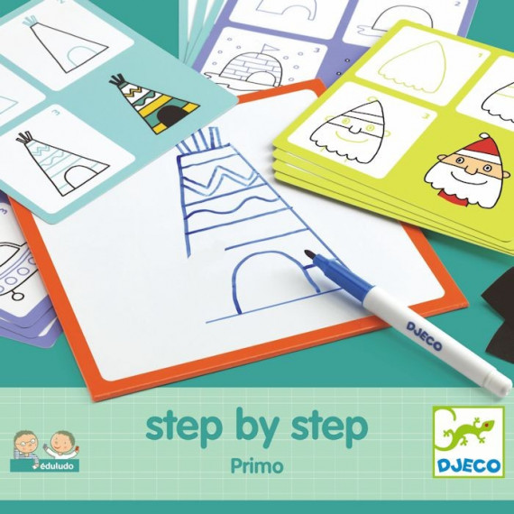 "STEP by STEP ""Primo"", construire une image DJECO 8323"