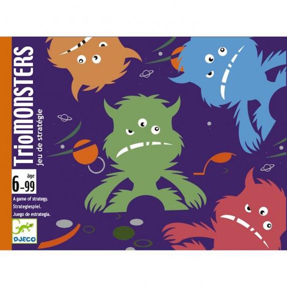 TrioMONSTERS DJECO 5187