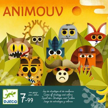 Animouv, jeu de stratégie DJECO 8446