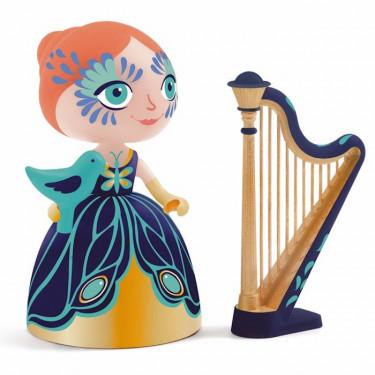 Arty Toys Elisa & Ze Harp Djeco 6771