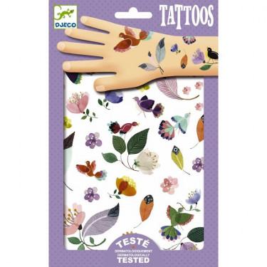 Tatouages Envolée DJECO 9582