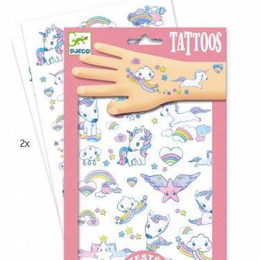 Tatouages Licornes DJECO 9575