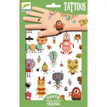Tatouages Monstres DJECO 9581