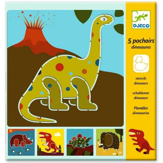 Pochoirs Dinosaures, DJECO 8863