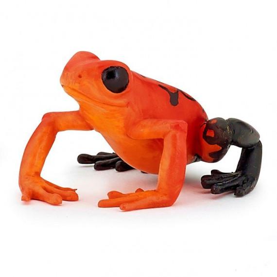 Grenouille équatoriale rouge, figurine PAPO 50193