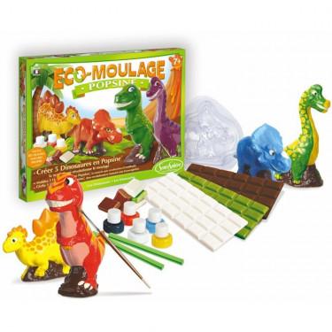"""Eco-Moulage Popsine """"Les dinosaures"""" Sentosphère 2632"""