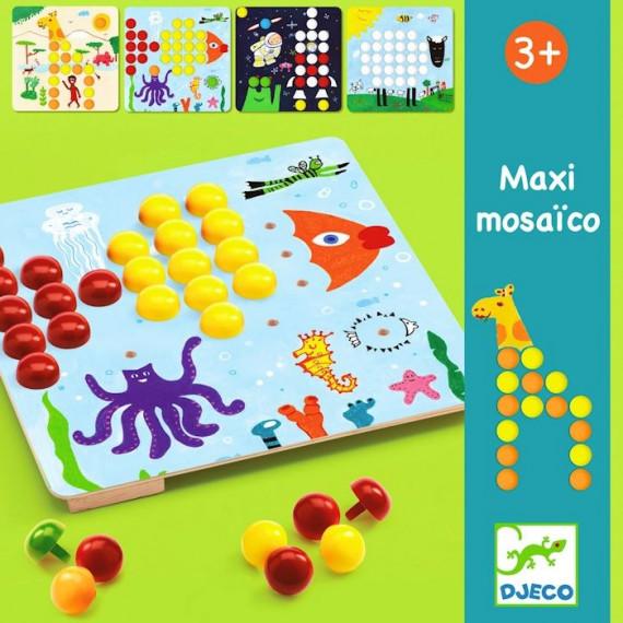 Mosaïco Maxi, jeu de mosaïque DJECO 8141