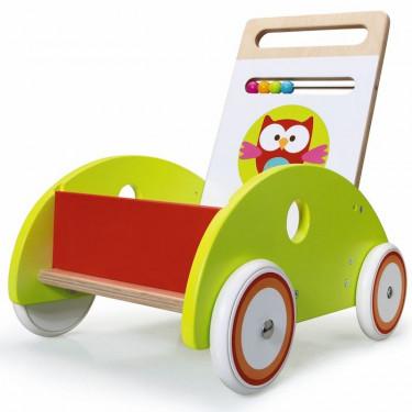 Chariot de marche Hibou Lou SCRATCH