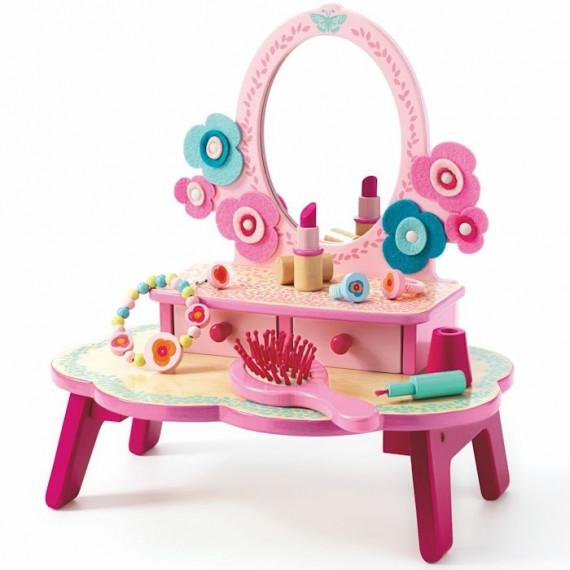flora coiffeuse djeco 6553 jouets et merveilles. Black Bedroom Furniture Sets. Home Design Ideas