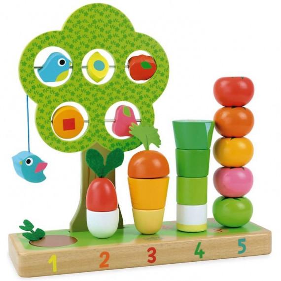 J'apprends à compter les légumes VILAC 2469