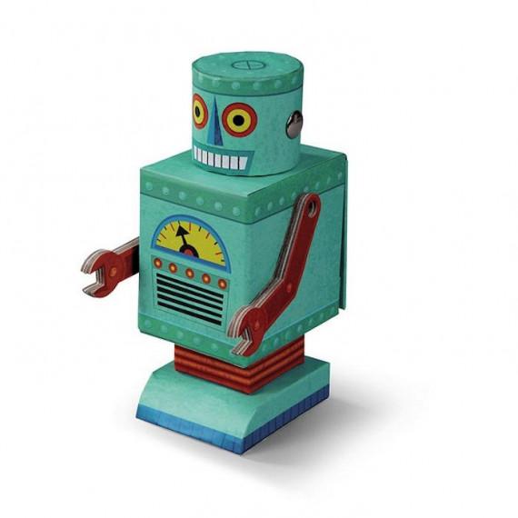 """Puzzle créature """"Robot"""" 48 pcs CROCODILE CREEK"""