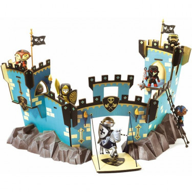 Château on Ze Rock Arty Toys djeco 6737