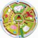 """Jeu de labyrinthe à billes magnétique """"Les chiffres"""" HABA 301473"""