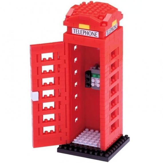 Cabine téléphonique londonienne nanoblock