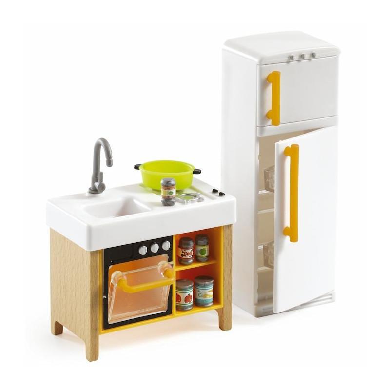cuisine compacte djeco 7833