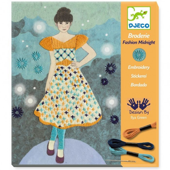 Broderie Fashion Midnight DJECO 9842